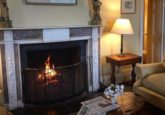 Ballymaloe fireplace