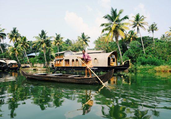 Kerala Boat Pic